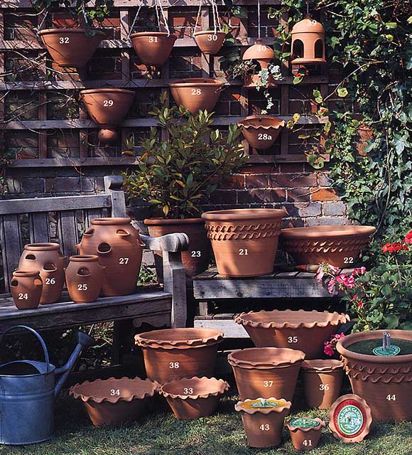 Garden Pots Suffolk Potteries